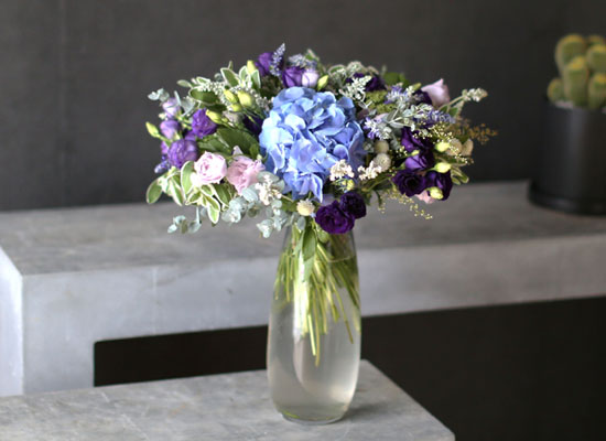 Ways to Freshen Your Home - Purple of summer(화기는 변경될 수 있습니다)