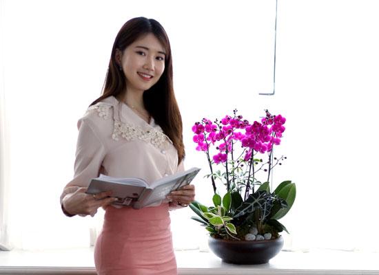 감사와 존경의 선물로 최고선물 서양란 -  베스트 만천홍