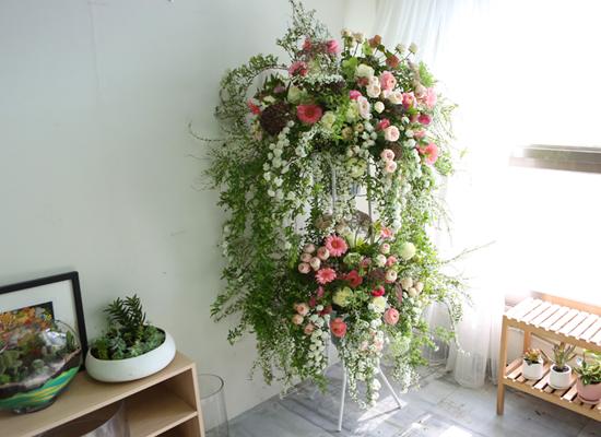 결혼식 축하화환 - Wedding Flowers 청혼