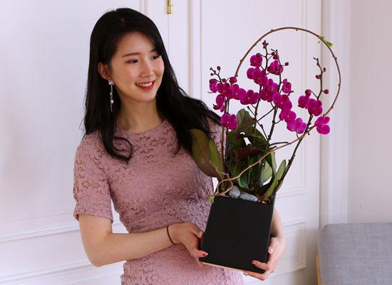 부모님 은혜 감사합니다 - 꽃과 함께 행복하세요