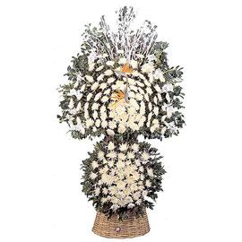 근조  장구바구니(대) 디자인 꽃배달하시려면 이미지를 클릭해주세요