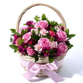 [전국배송]봄빛 한바구니(*바구니변경) 꽃배달하시려면 이미지를 클릭해주세요