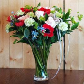 [서울배송]로즈 & 시티 - Crimson Lake 꽃배달하시려면 이미지를 클릭해주세요