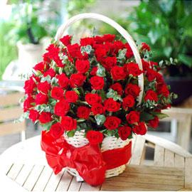 [전국배송] 플라워119의 맛 - 장미가 이뻐 정말100송이야? 꽃배달하시려면 이미지를 클릭해주세요