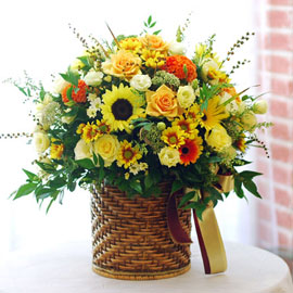 가을이 준 행복 - 그림같은 시절(바구니변경) 꽃배달하시려면 이미지를 클릭해주세요