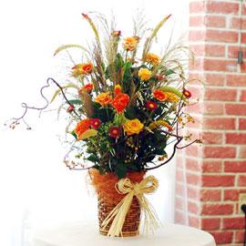 [서울배송]가을이 준 행복 - 풍경화속 가을(바구니변경) 꽃배달하시려면 이미지를 클릭해주세요