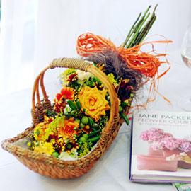 가을이 준 행복 - 타인의 행복(바구니변경) 꽃배달하시려면 이미지를 클릭해주세요