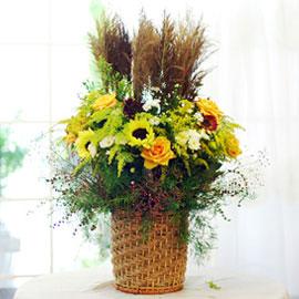 가을이 준 행복 - 가을길 산책(바구니변경) 꽃배달하시려면 이미지를 클릭해주세요