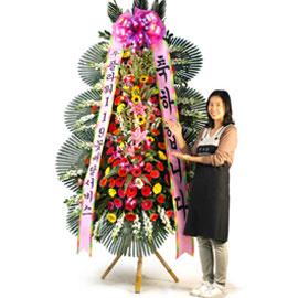 축하3단화환(고급) 꽃배달하시려면 이미지를 클릭해주세요