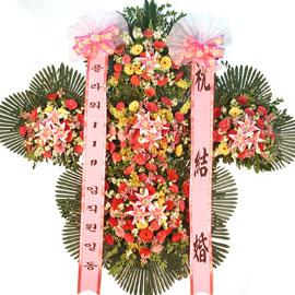 축하5단화환 꽃배달하시려면 이미지를 클릭해주세요