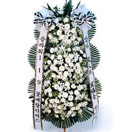 근조3단화환(혼합) 꽃배달하시려면 이미지를 클릭해주세요