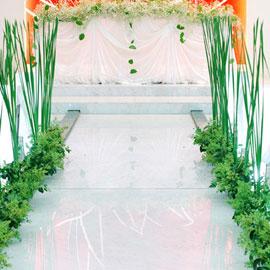꽃길장식 - Green 꽃배달하시려면 이미지를 클릭해주세요