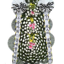 근조3단화환 ( 大 ) 꽃배달하시려면 이미지를 클릭해주세요