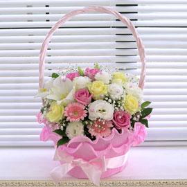 [서울배송] Bling bling- Love love love(바구니 품절시 변경될 수 있음) 꽃배달하시려면 이미지를 클릭해주세요