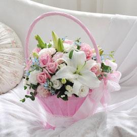 [서울배송] Bling bling - My love…(바구니 품절시 변경될 수 있음) 꽃배달하시려면 이미지를 클릭해주세요