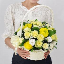 [서울배송] Bling bling - Loving you(바구니 품절시 변경될 수 있음) 꽃배달하시려면 이미지를 클릭해주세요