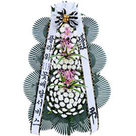 보내시는 분의 품격! - 플라워119 근조3단화환(핑크포인트) 꽃배달하시려면 이미지를 클릭해주세요