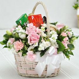 [서울배송] 빼빼로 데이 - Bless you(바구니변경. 다른 바구니로 대체) 꽃배달하시려면 이미지를 클릭해주세요