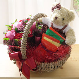 [서울배송] 빼빼로 데이 - 나와 함께 있어줘 꽃배달하시려면 이미지를 클릭해주세요