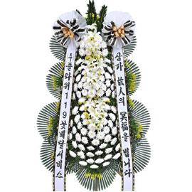 보내시는분의 품격! - 플라워119 근조3단화환 꽃배달하시려면 이미지를 클릭해주세요