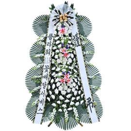 보내시는분의 품격! - 플라워119 근조3단화환( 르네브포인트 일반형 ) 꽃배달하시려면 이미지를 클릭해주세요