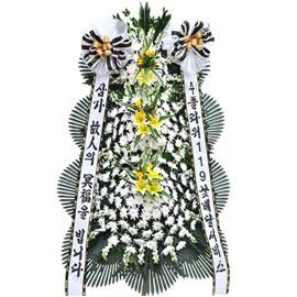 보내시는분의 품격! - 플라워119 근조3단화환( 고급형 ) 꽃배달하시려면 이미지를 클릭해주세요