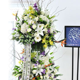 축하의 마음을 전합니다- 플라워119 디자인화환 꽃배달하시려면 이미지를 클릭해주세요