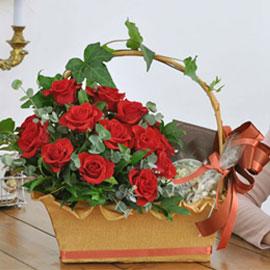 [서울배송] Happy valentine's day! - 사랑이란 마법(바구니품절시 변경할 수 있음) 꽃배달하시려면 이미지를 클릭해주세요