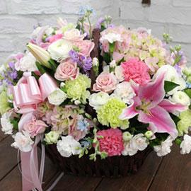 [서울배송] love day!(바구니품절시 변경할 수 있음) 꽃배달하시려면 이미지를 클릭해주세요
