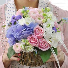 [서울배송] Happy day! - 하늘 별 꽃(화기는 변경될 수 있습니다) 꽃배달하시려면 이미지를 클릭해주세요