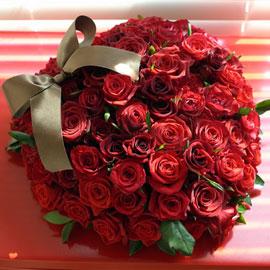 [100송이][서울/수도권]Rose & My 100 heart 꽃배달하시려면 이미지를 클릭해주세요