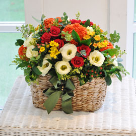 [서울배송] 가을 색 - Nostalgia 꽃배달하시려면 이미지를 클릭해주세요