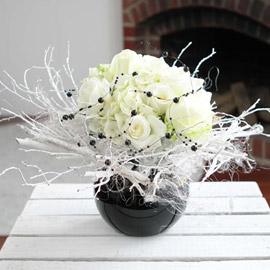 [서울배송]크리스마스에는 사랑을 - White christmas 꽃배달하시려면 이미지를 클릭해주세요