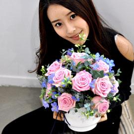 [서울배송] 레미제라블(LesMiserables)-Love(화기는 변경될 수 있습니다) 꽃배달하시려면 이미지를 클릭해주세요