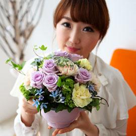 [서울배송] 사랑 가득한 5월 - 언제나 그 자리에(화기는 변경될 수 있습니다) 꽃배달하시려면 이미지를 클릭해주세요