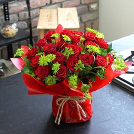 매혹적인장미 - Red Angel 꽃배달하시려면 이미지를 클릭해주세요