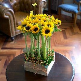 Summer time - 키다리 아저씨(바구니 품절시 변경될 수 있음) 꽃배달하시려면 이미지를 클릭해주세요