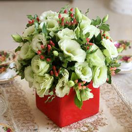 [서울배송] Beautiful colors - Lisianthus(화기는 변경될 수 있습니다) 꽃배달하시려면 이미지를 클릭해주세요