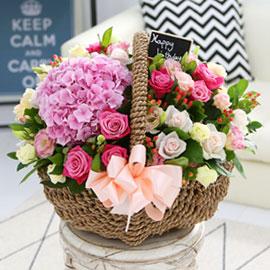 [서울배송] Lovely sweet - 마음을 담아서 꽃배달하시려면 이미지를 클릭해주세요