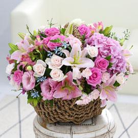 [서울배송] Lovely sweet - 핑크빛로맨스 꽃배달하시려면 이미지를 클릭해주세요