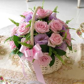 [서울,광역시배송] Lovely sweet II - Marry me(*바구니변경) 꽃배달하시려면 이미지를 클릭해주세요