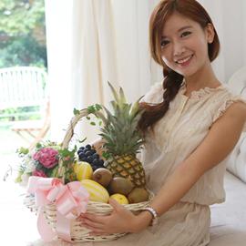 [전국배송] 아기자기 과일바구니 꽃배달하시려면 이미지를 클릭해주세요