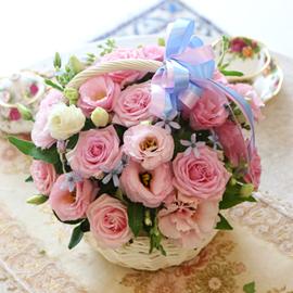 [서울배송] Lovely sweet II - 첫사랑(*바구니변경) 꽃배달하시려면 이미지를 클릭해주세요