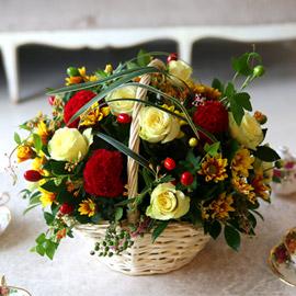 [전국배송] Fall in love - 풍성한가을 꽃배달하시려면 이미지를 클릭해주세요