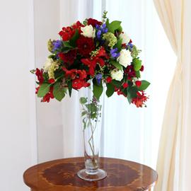 [서울배송]  Art in Flowers - Crescent Vase 꽃배달하시려면 이미지를 클릭해주세요