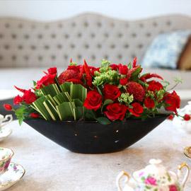 [서울배송]  Art in Flowers - Hogarth Curve 꽃배달하시려면 이미지를 클릭해주세요