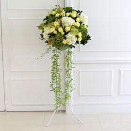 [수도권배송] 플라워119 디자인화환 - Wedding march 꽃배달하시려면 이미지를 클릭해주세요