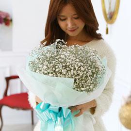 [전국예약배송] Winter Wonderland - 안개 눈꽃송이 꽃배달하시려면 이미지를 클릭해주세요