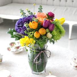 [서울배송]Spring & Sweet  - 비비드 캔디컬러 꽃배달하시려면 이미지를 클릭해주세요