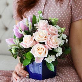 [서울배송] Spring & Sweet - 봄이여 오라(화기는 변경될 수 있습니다) 꽃배달하시려면 이미지를 클릭해주세요